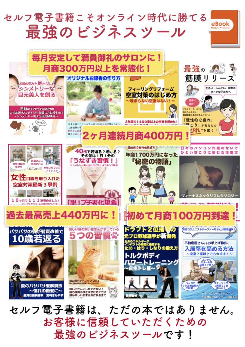 KIDUNAマーケティング セルフ電子書籍